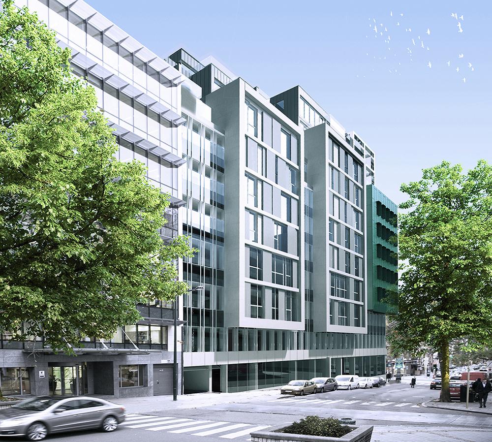 Projet immobilier à Bruxelles