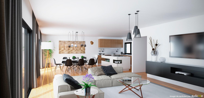 Aménagement de 2 futurs appartements