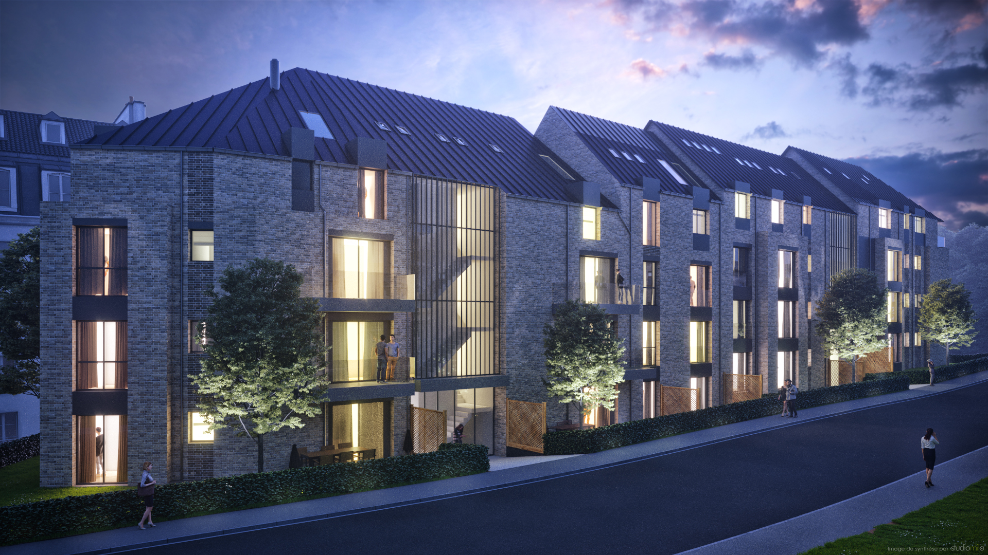 Immeubles à appartements (Luxembourg)