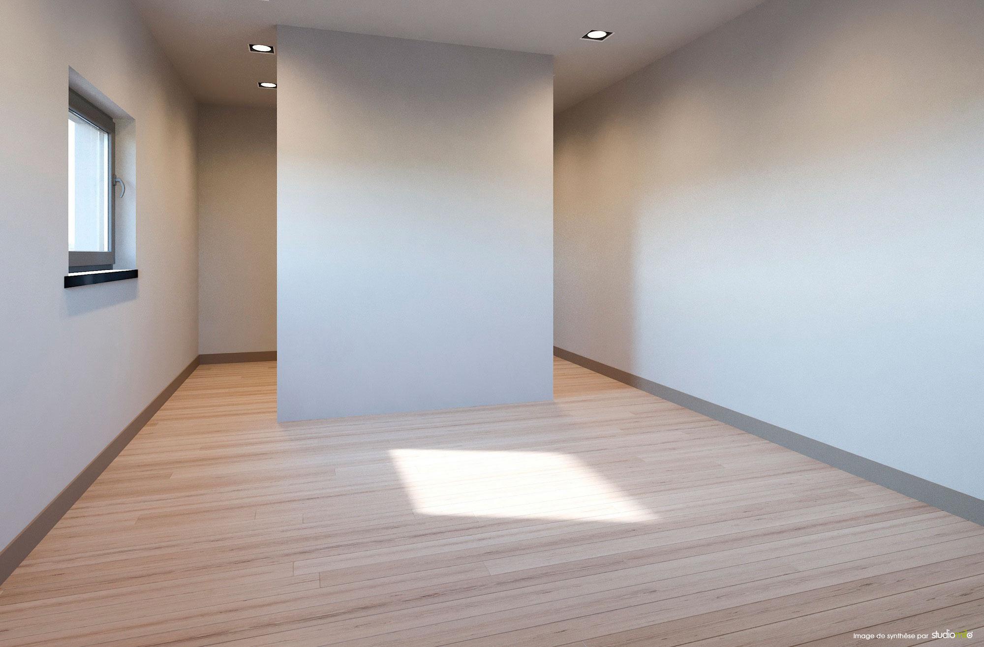les 5 hêtres chambre sans mobilier