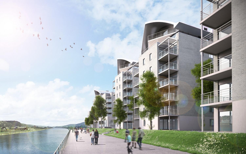 Projet immobilier en bord de Meuse
