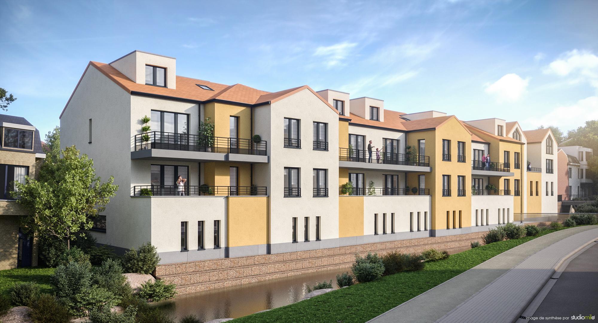 Résidence Bayard – Immeuble à appartements (Braine-L'Alleud)